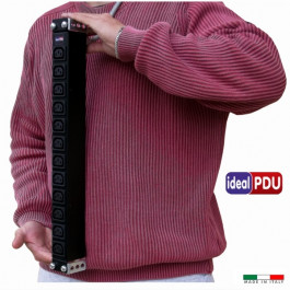 """PDU Multipresa Serie VDE 19"""" - 10A 230V - 12 IEC C13 compact"""