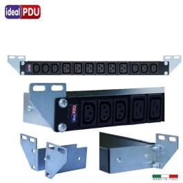 """PDU Multipresa Serie VDE 19"""" - 16A 230V - 6 C13 + 6 C19 DIR"""