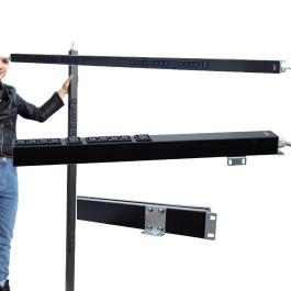 Multipresa rack verticale - 16A 230V - 20 prese C13 + 4 C19