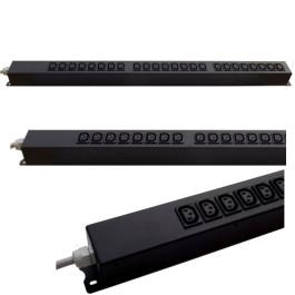 Multipresa rack verticale - 16A 230V - 24 prese IEC C13