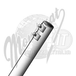 Palo in alluminio 2mt  Ø 25mm