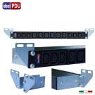 PDU Multipresa Serie VDE 19 - 6  prese C13 + 6 prese C19