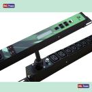 PDU Intelligente monitoraggio remoto, 10 C13, 2 C19  32Amper