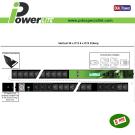 Multipresa intelligente verticale 32A - 36 C13, 6 C19