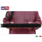 """PDU Multipresa Serie VDE 19"""" - 16A 230V - 16 C13 DIR"""