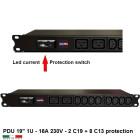PDU Multipresa Serie VDE 19