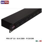 PDU Multipresa Serie VDE 19 - 8 prese C19